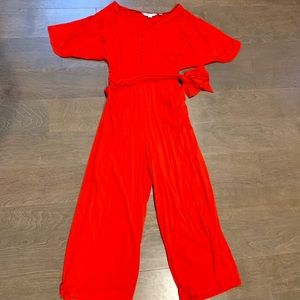 BODEN red jumpsuit